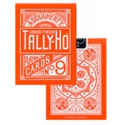 Bicycle Tally Ho Circle Orange