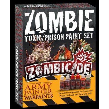 Zombicide Toxic Paint Set