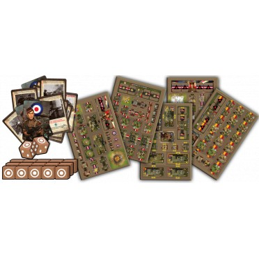 Heroes of Normandie - Commonwealth Army Box - VF