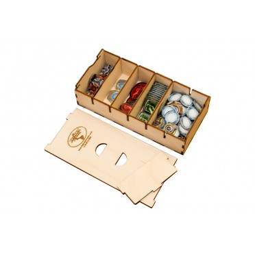 Short Bits Box pour Sleeved Card Game - Box Organizer
