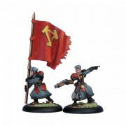 Winter Guard Officer & Standard Bearer pas cher