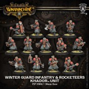 Winter Guard Infantry & Rocketeers pas cher