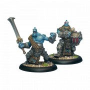 Hordes - Trollkin Fennblade Officer & Drummer