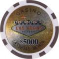 Jetons Vegas 5000$ 1