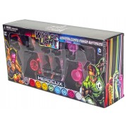 Lantern corps power batteries - rouge et violet