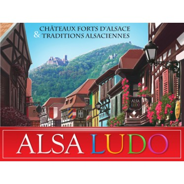 Alsa Ludo Châteaux forts d'Alsace & Traditions alsaciennes