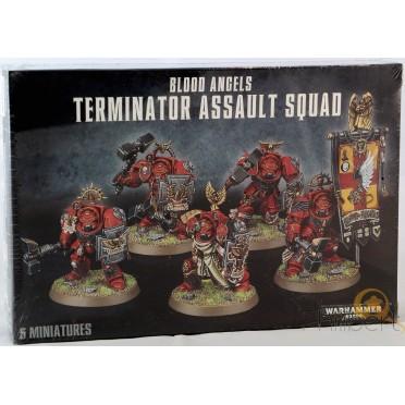 W40K : Adeptus Astartes Blood Angels - Terminator Assault Squad