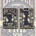 Civil War - Bleu - jeux de 54 Cartes Bicycle 1