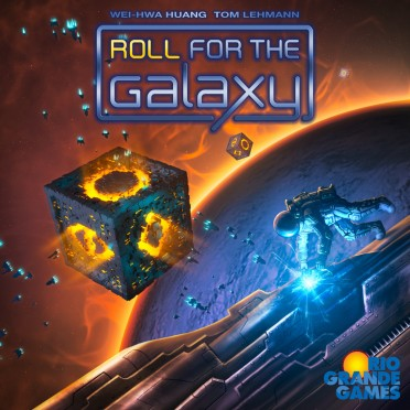 Race for the Galaxy (Anglais) - Roll for the Galaxy