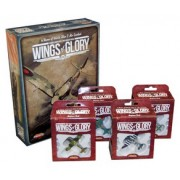 Wings of Glory WW2 - Rules and 4 Airplane Combo Pack