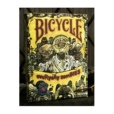 Everyday Zombies - Bicycle - 54 Cartes à Jouer