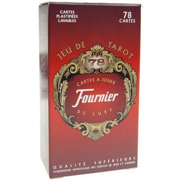 Tarot 78 cartes - Rouge