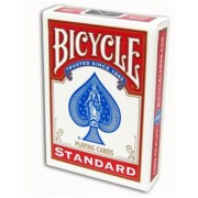 Face Blanche/Dos Rouge - Standard - Bicycle - 54 Cartes Spéciales Magie