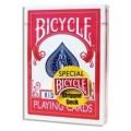Biseaute Usine (standard Stripper Deck) - rouge - 54 Cartes spéciales - Bicycle 0