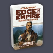 Star Wars : Edge of the Empire - Colonist Specialization Deck