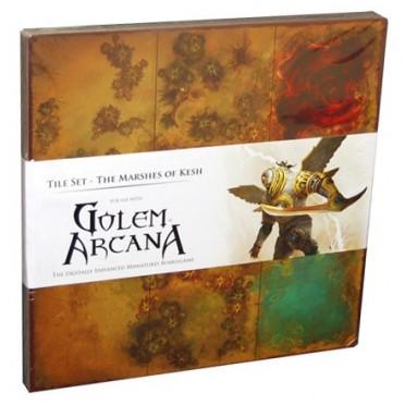 Golem Arcana - Map Tiles Set 3 : Marshes of Kesh