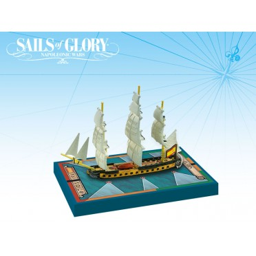 Sails of Glory - HMS Sirena 1793