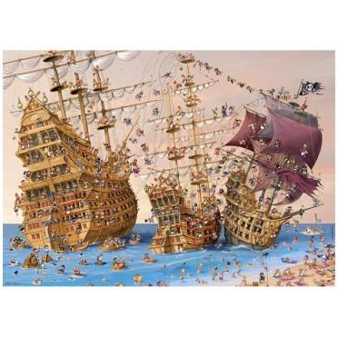Puzzle - Corsair de Francois Ruyer - 1000 Pièces