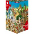 Puzzle - Global City de Hugo Prades - 1500 Pièces 1