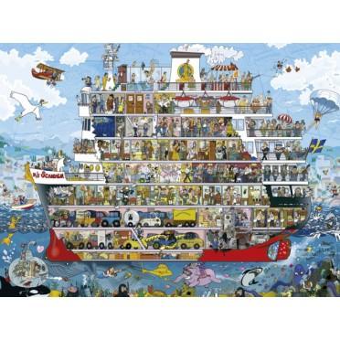 Puzzle - Cruise d'Anders Lyon - 1500 Pièces
