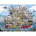 Puzzle - Cruise d'Anders Lyon - 1500 Pièces 0