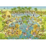 Puzzle - Nile Habitat de Marino Degano - 1000 Pièces