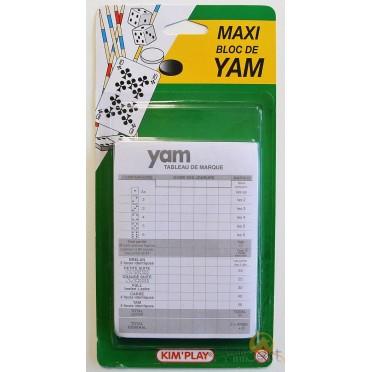 Maxi Bloc de Recharge pour Yam