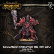 Kommander Harkevich, the Iron Wolf pas cher