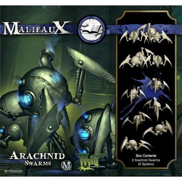 Malifaux 2nd Edition - Arachnid Swarms