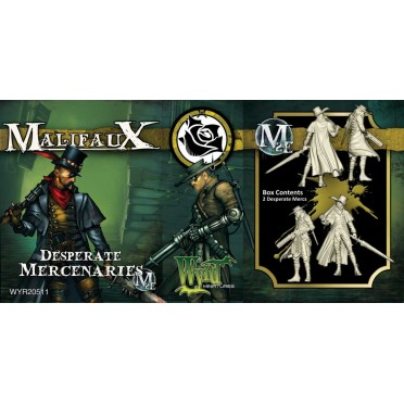 Malifaux 2nd Edition - Desperate Mercenaries