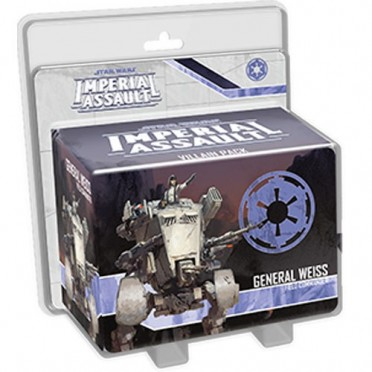 Star Wars: Imperial Assault: General Weiss Villain Pack