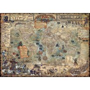 Puzzle - Pirate World de Rajko Zigic - 3000 Pièces