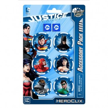 DC Heroclix - Justice League Trinity War - Dice and Token