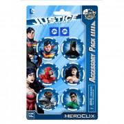 DC Heroclix - Justice League Trinity War - Dice and Token