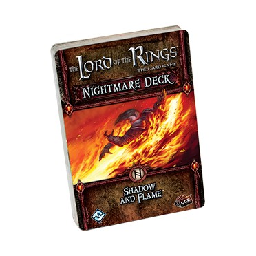 The Lord of the Rings LCG - Shadow and Flame Nightmare Deck