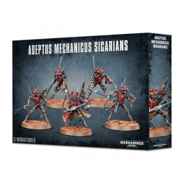 W40K : Adeptus Mechanicus Skitarii - Sicarians