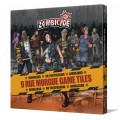 Zombicide : 9 Rue Morgue Game Tiles 0