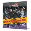 Zombicide : 3 Angry Neighbors Game Tiles 0