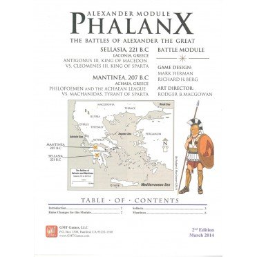 Great Battles of Alexander - Phalanx Module 2nd Edition