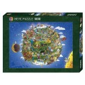 Puzzle - The Earth d'Anders Lyon - 1000 Pièces 1