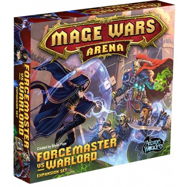 Mage Wars Arena : Forcemaster vs. Warlord