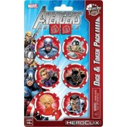 Heroclix - Avengers Assemble Captain America : Dice and Token