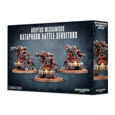 W40K : Adeptus Mechanicus Cult Mechanicus - Kataphron Battle Servitors