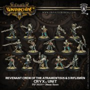 Revenant Crew of the Atramentous & 3 Riflemen pas cher