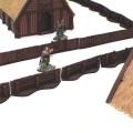 Palissades nordiques avec portes 0