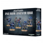 W40K : Adeptus Astartes Space Marine - Devastator Squad