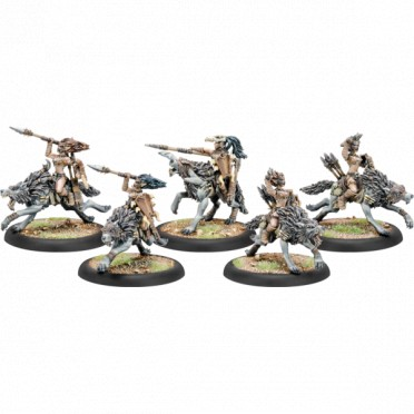 Hordes - Tharn Wolf Riders