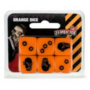 Zombicide : Set de Dés Orange