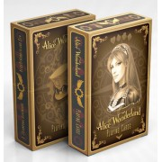 Alice Wonderland - Or - Jeux de 54 Cartes