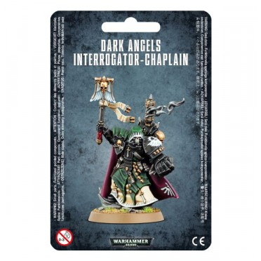 W40K :Adeptus Astartes Dark Angels - Interrogator Chaplain